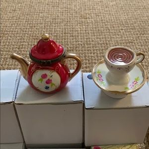 Other - Teapot and Coffee Treasure box Favors